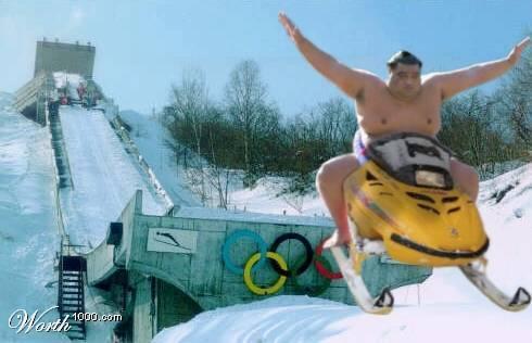 Новым годом, смешные картинки на снегоходе