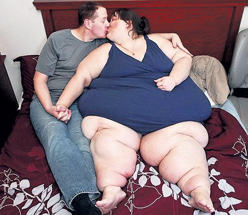 Секс жирная толстая женщина