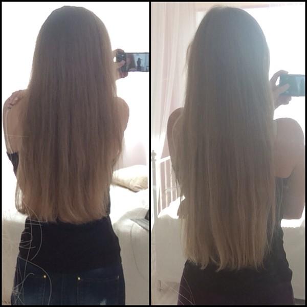 Отрасли волосы за год