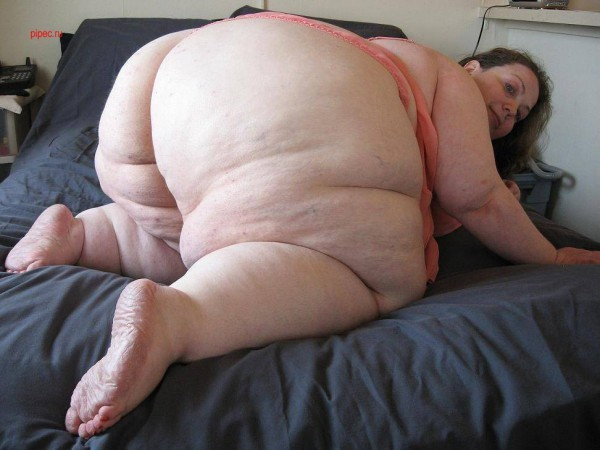Жопы очень фото толстые теток