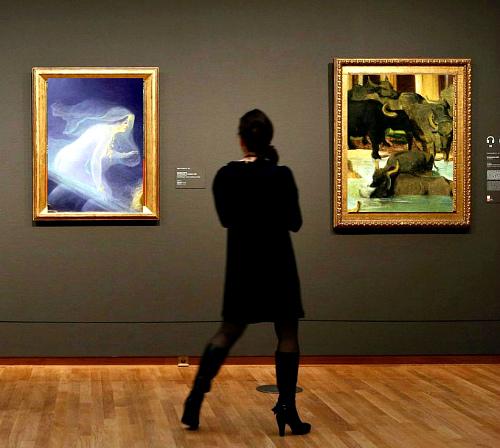Выставка женщина