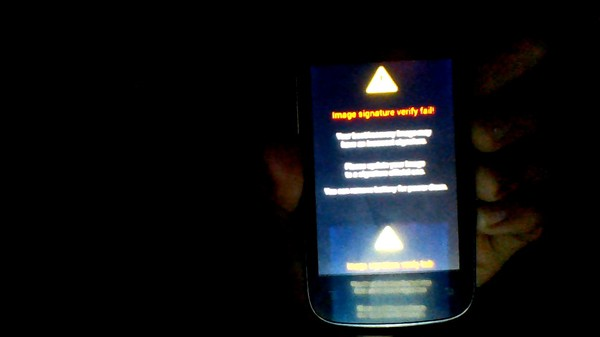 Boot recovery galaxy s3