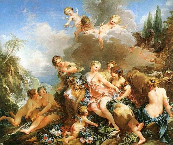 Древнегреческая мифология в творчестве русских художников
