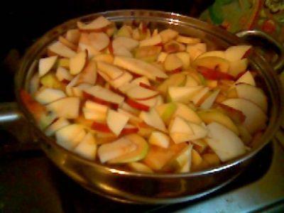 что можно приготовить из яблок в микроволновке