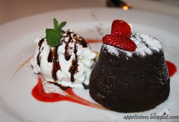 Горячие шоколадные кексы
