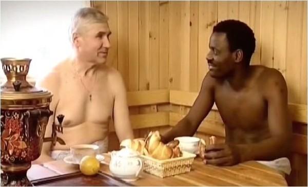 негры в бане с бабами