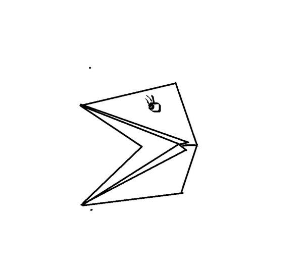 Оригами лягушка из бумаги,