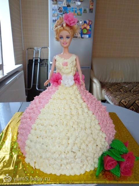 Детский торт кукла своими руками 134