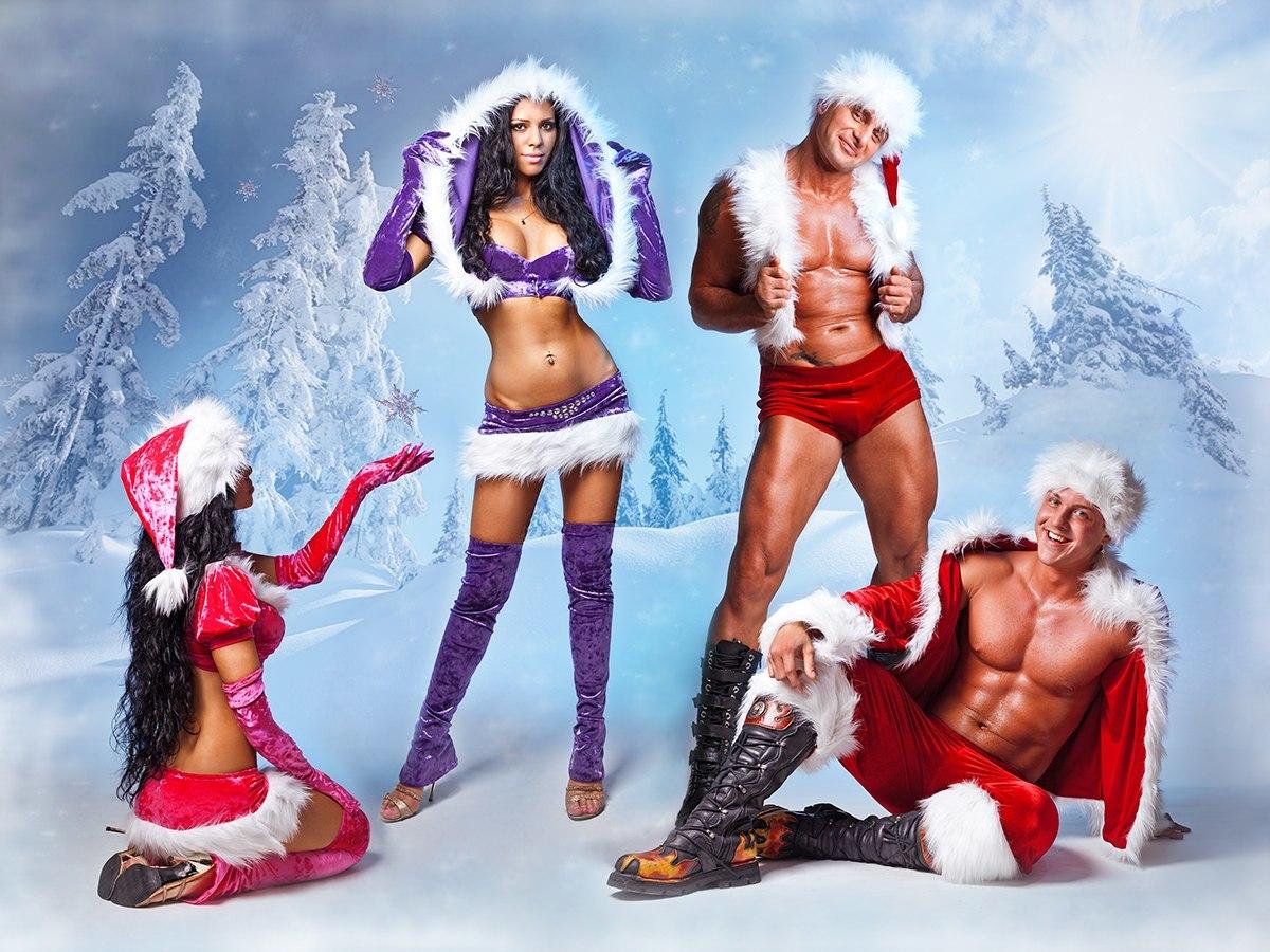 Дед мороз эротичный