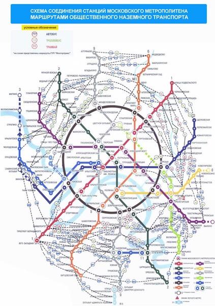 Какую карту Москвы купить с