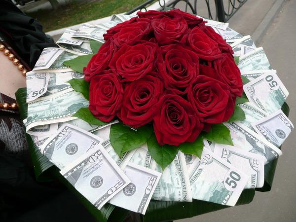 Цветов шаров, букеты из миллиона цветов и денег