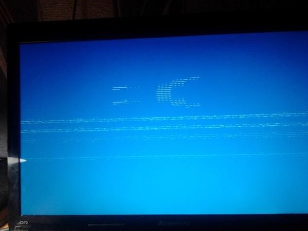 всего экран загорелся синим и исчезла картинка заключению специалиста, смерть