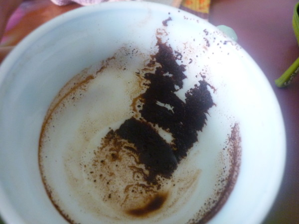 Гадание на кофейной гуще человек и птица