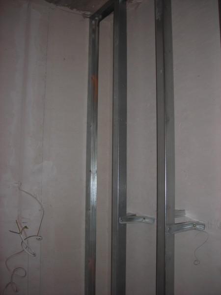 Ответы@mail.ru: для крепления гипсоплиты к стене профили над.