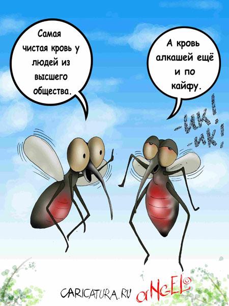 Смешные картинки с комаром
