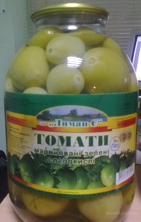 Рецепты консервированных зеленых помидор с фото