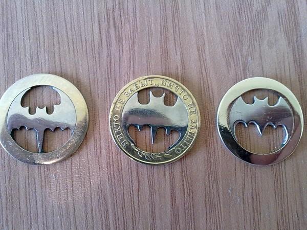 Как сделать из монеты медальон