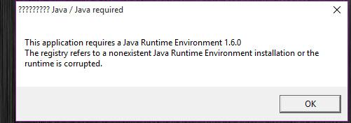 что делать если при запуске майнкрафт пишет java runtime environment #7