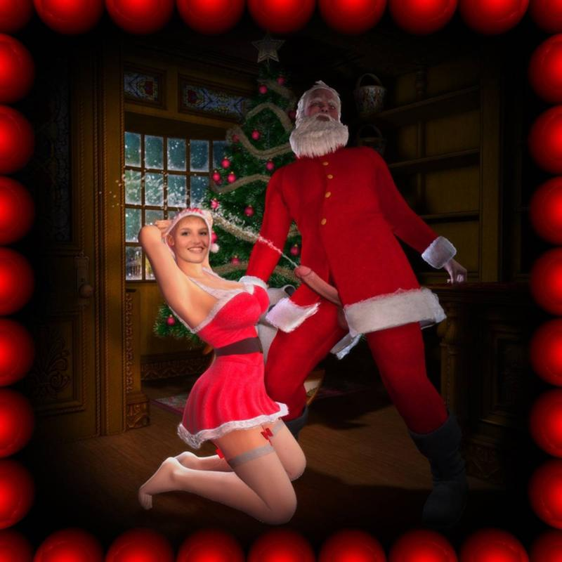 Санта клаус секс фото