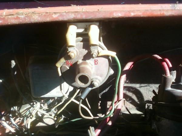 Ru: катушка зажигания Б115В