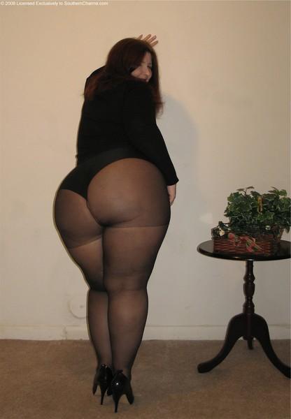 фото толстых в колготках