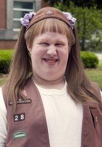 фото девушки с русыми волосами средней длины