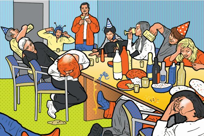 Новогодний корпоратив бухгалтерский учет