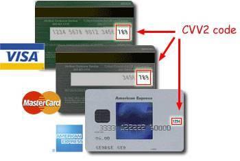 Что такое CVV2/CVC2 код? | iPay ua - сервис онлайн
