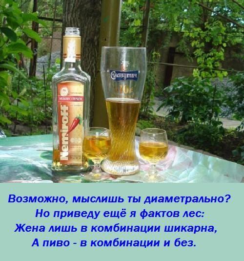 Пиво и водка вместе