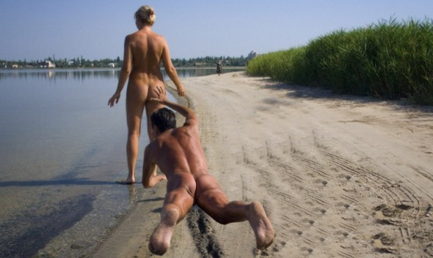 голые тетки на природе без мужиков видео