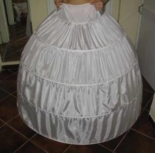 Как сделать кольца под платье своими