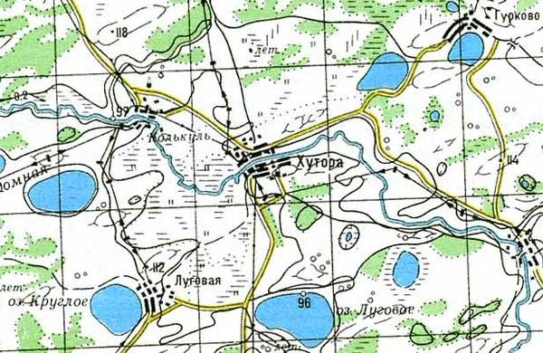 заброшенные деревни омской области на карте назвать