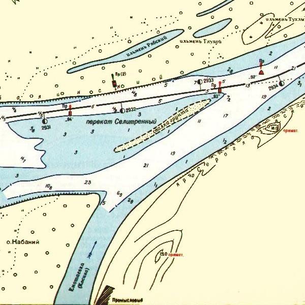 карта реки бузан с привязкой фотографий