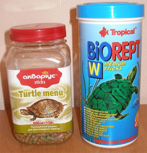 Чем можно кормить красноухих черепах кроме корма