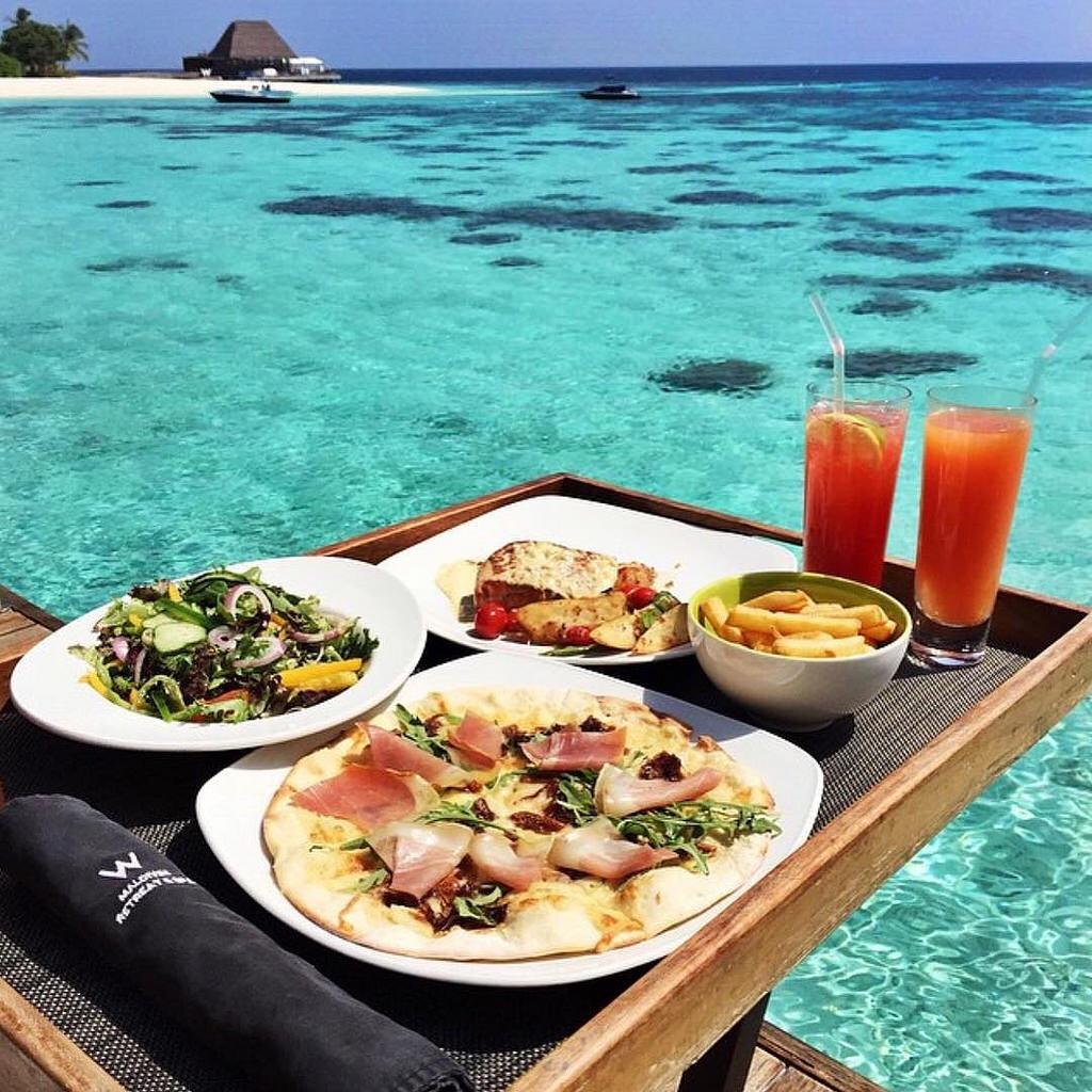 Завтрак на море картинки