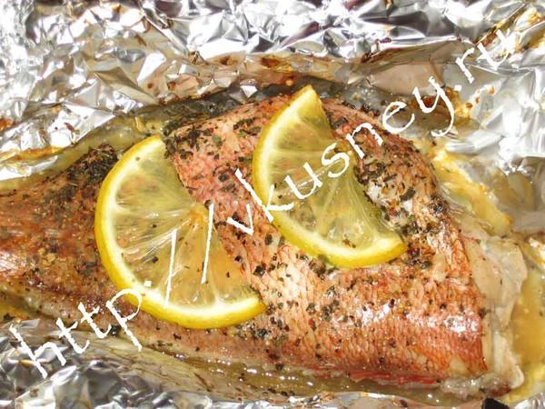 Блюда из морского окуня рецепты с фото