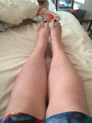 Видео небритых ног фото 272-261