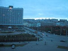 Один из крупнейших портовой городов россии