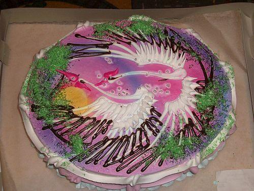 как украсить торт на день рождения с фото