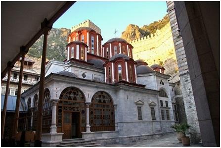Святые монастыри афона греция