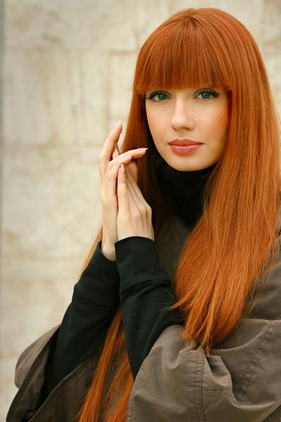 Кому идет рыжий цвет волос и зеленые глаза
