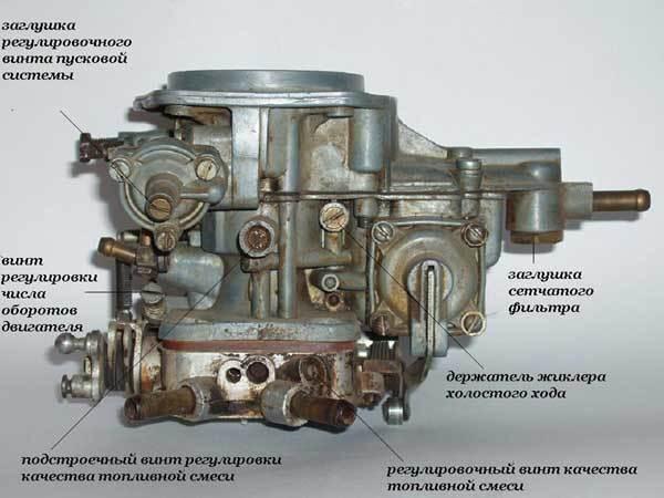 один примеров как уменьшить расход топлива на карбюратор 21041 Скрипичный ключ