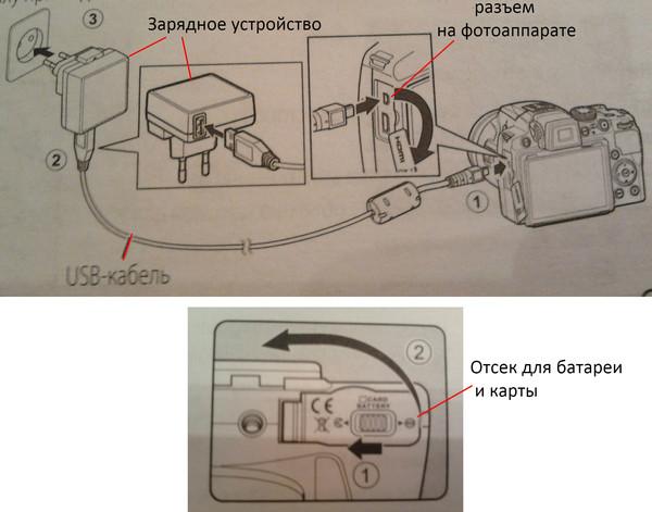 определенном новый аккумулятор фотоаппарата не заряжается ультра