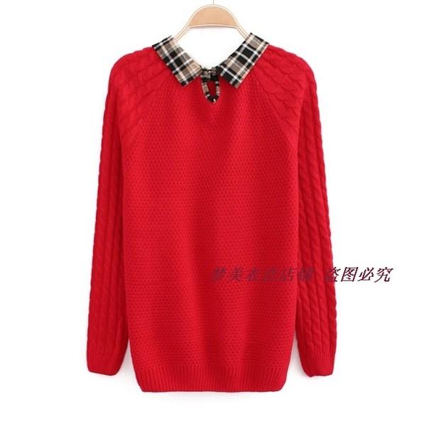 женский свитер с воротом доставка