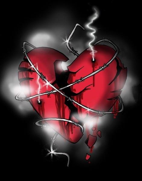 картинки сердце разбито от обид новым годом