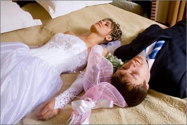 Сексом занимаются только после свадьбы