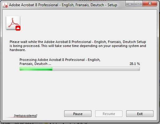 Ответы@Mail Ru: Не запускается установка Acrobat 8 Professional