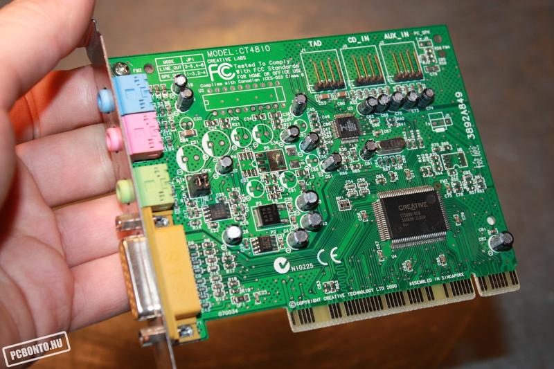 Скачать драйвер для звуковой карты ct4810 бесплатно