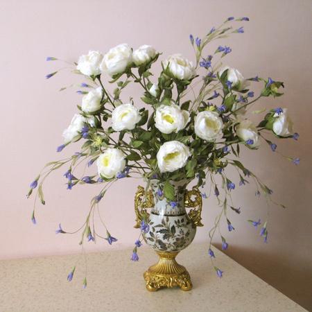 Цветы для вазы напольной фото