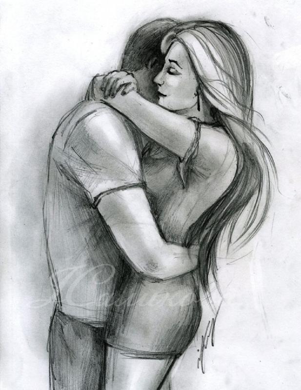 Рисунки любимой девушке карандашом